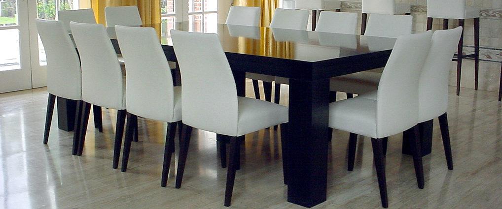 Avant garde muebles modernos muebler a de la plata for Comedor 12 personas chile